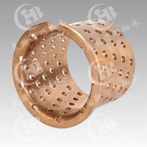 CHB-FB092 Monometallic Self-Lubricating Bimetal Bronze Bearing