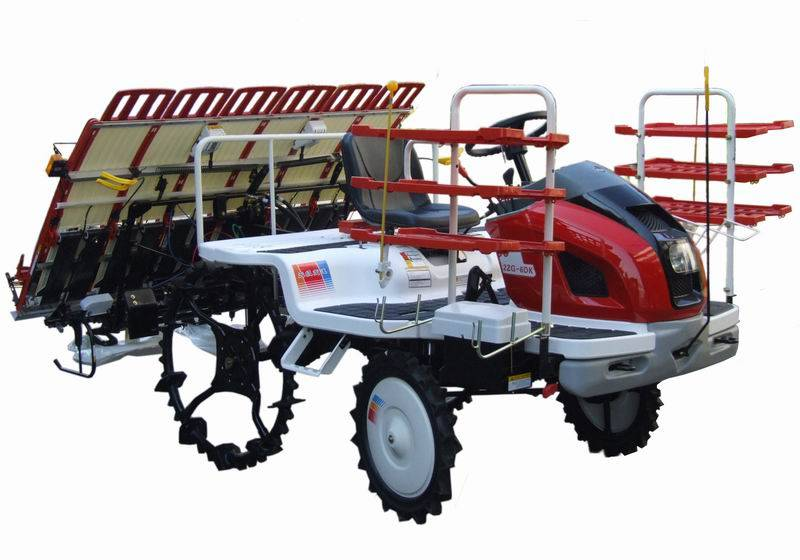 high speed and effective rice transplanter
