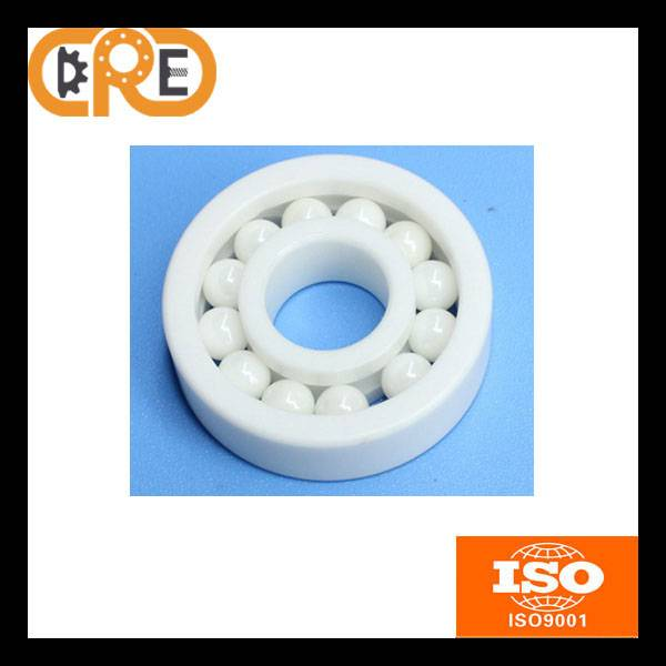 High Speed Anti Friction 6000 ZrO2 Material 10*26*8mm Ceramic Deep Groove Ball Bearings Ceramic ball
