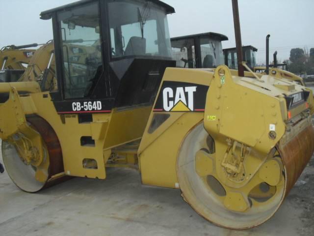 Used CAT CB-564D Road Roller