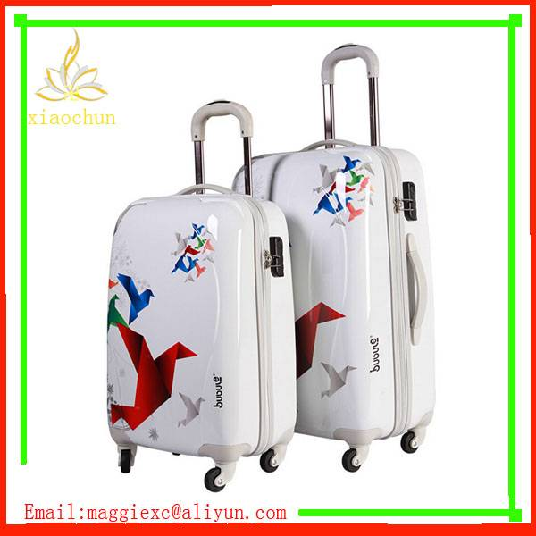 New Fashion ABS PC Luggage Suitcase factory directly price
