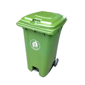 RXL-240U new design plastic dustbin with foot pedal