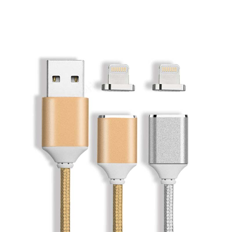 Nylon braided usb cable charging cable magnetic from factory