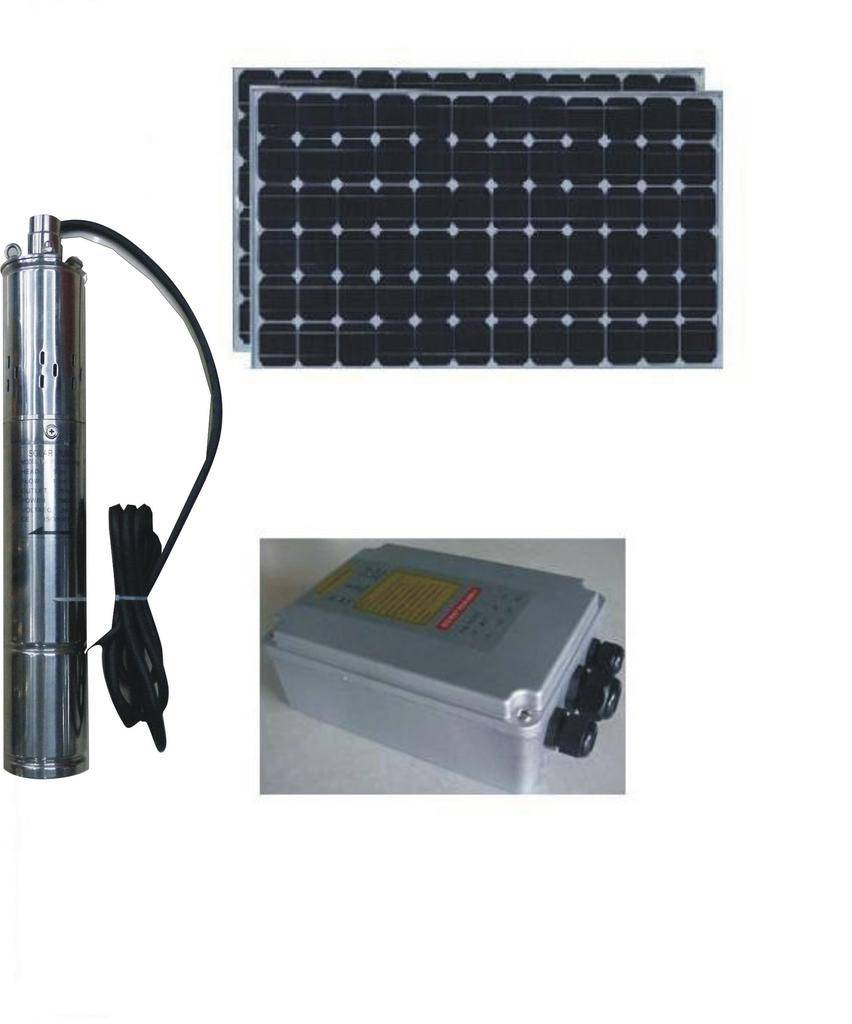 PV module solar water pumping system for home & irrigation