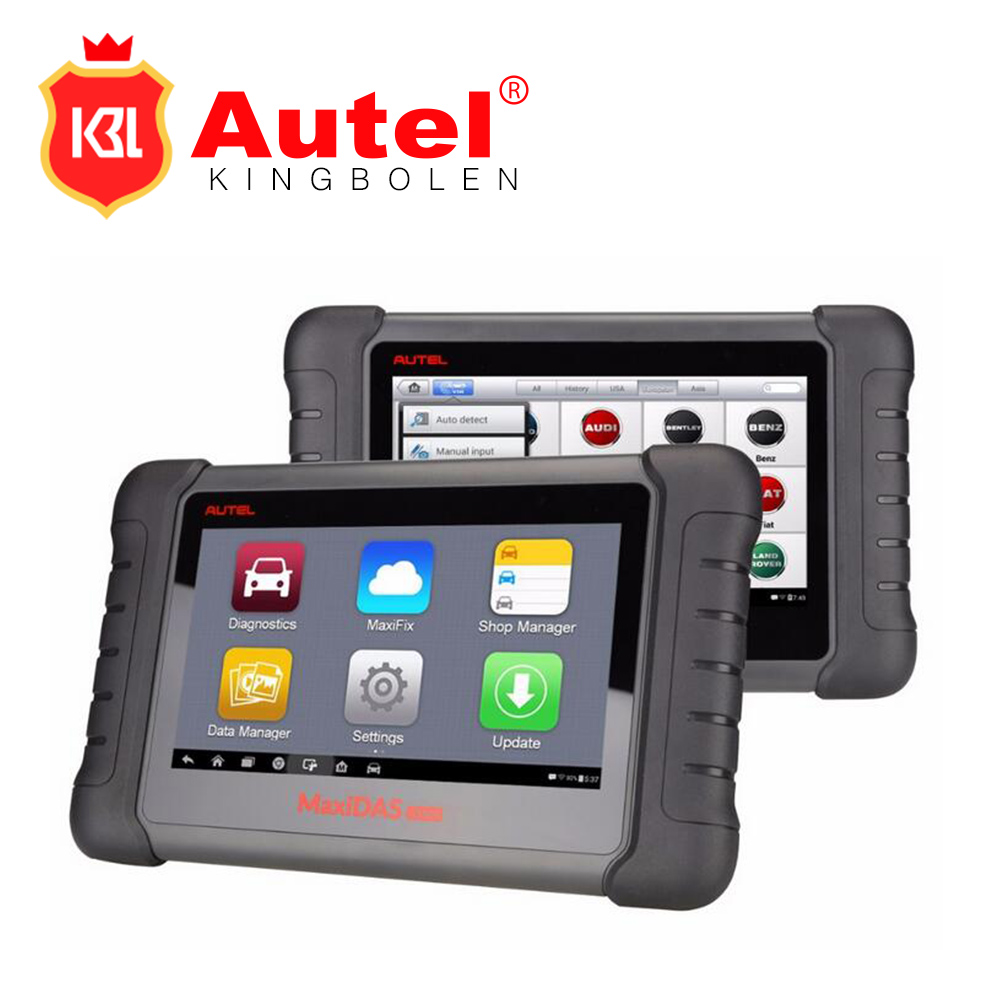 Autel MaxiDAS DS808 OBD2 Scanner Same as like MS906 Better Than Autel DS708