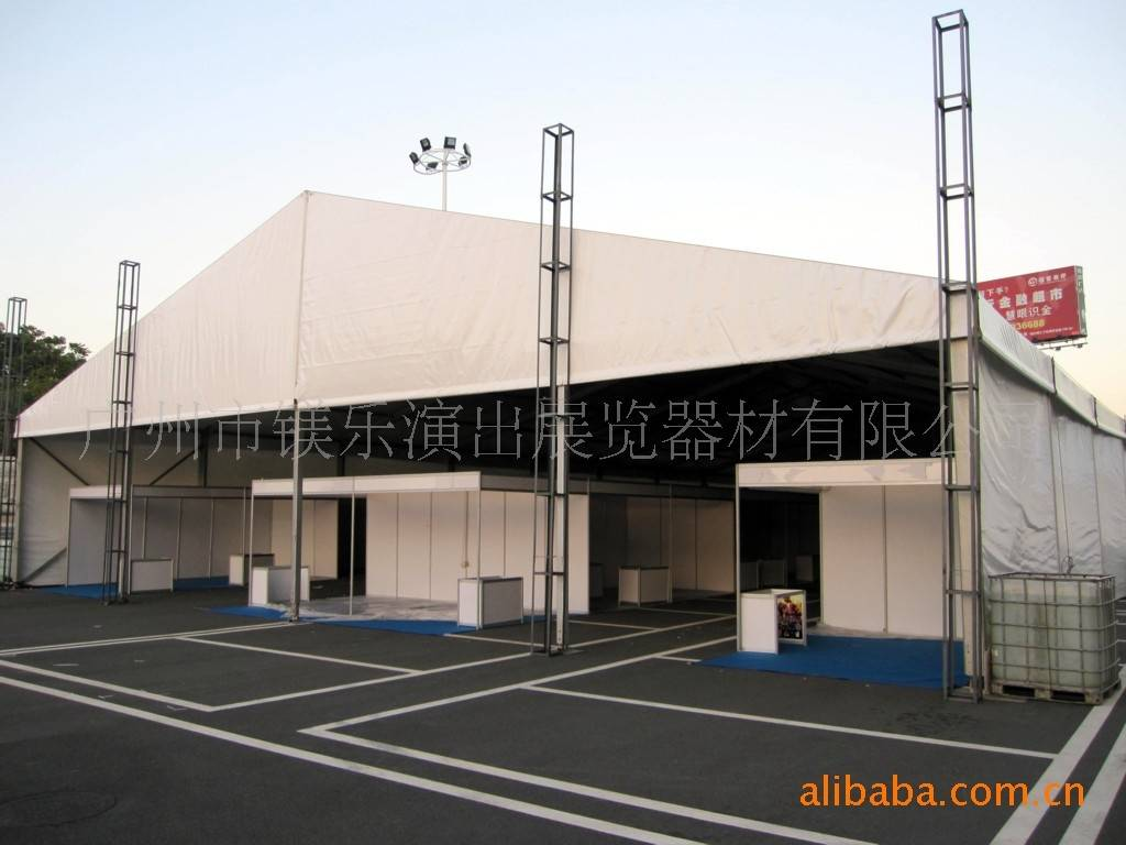 2012  fashinable beautiful exhibition tent with PVC of Chinese manufacturer
