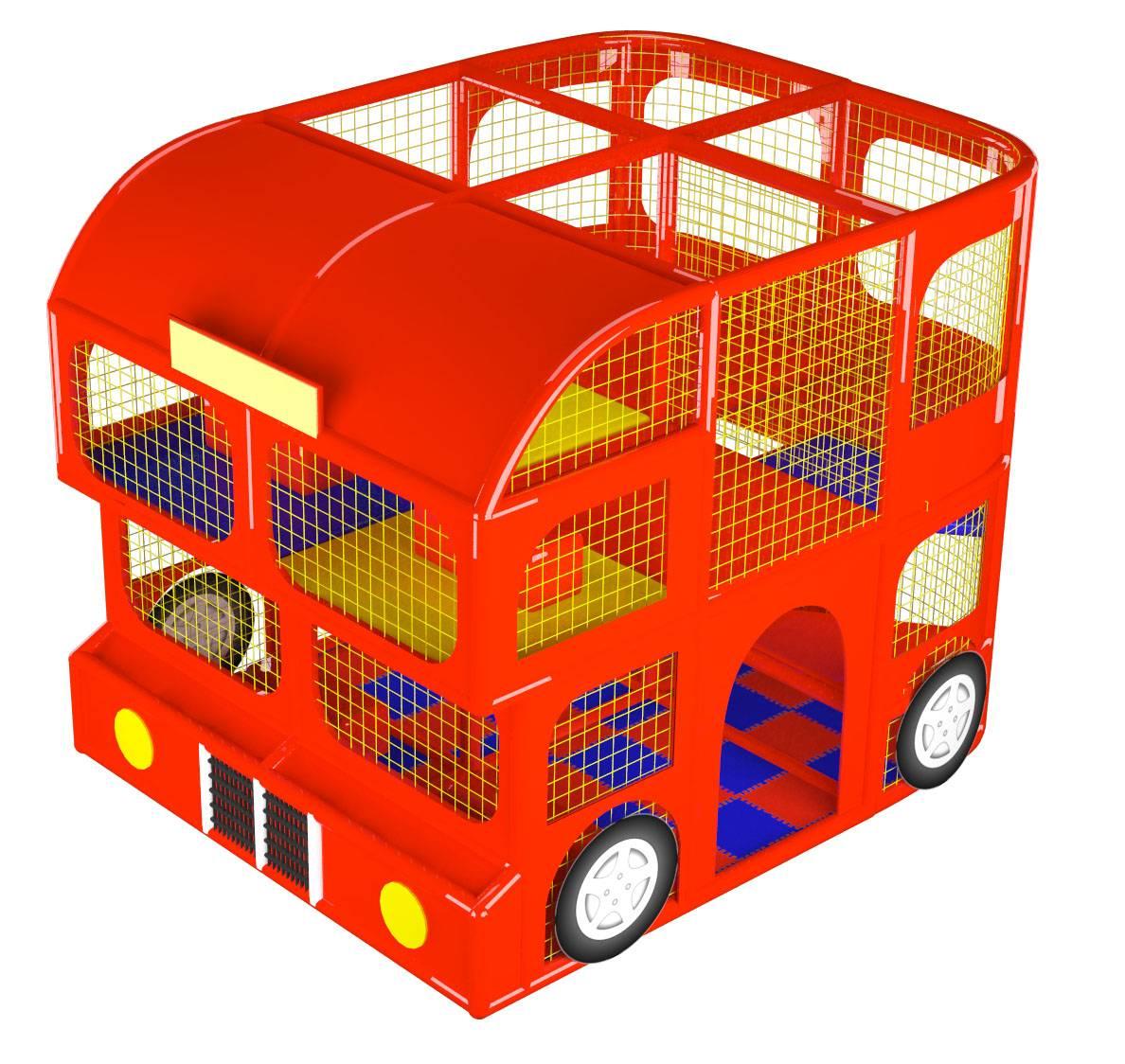 Indoor playground Bus