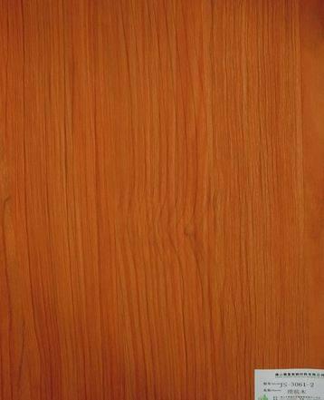 melamine paper/furniture decorative paper JS-3061-2 cherry wood