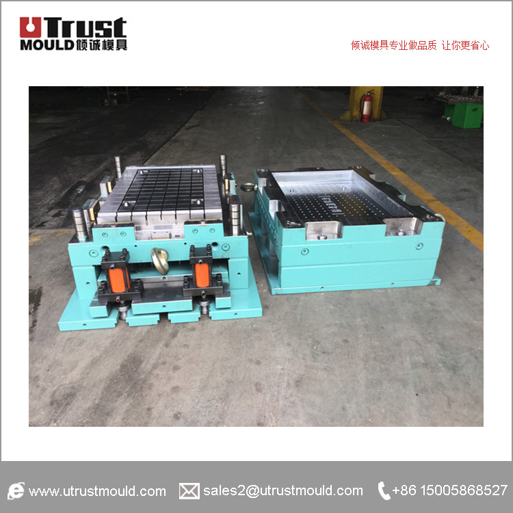 SMC gutter cover plate mould