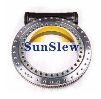 S21 open type slewing drive worm gear reducer for construction machine