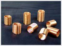 Helicoil insert Plating Gold color