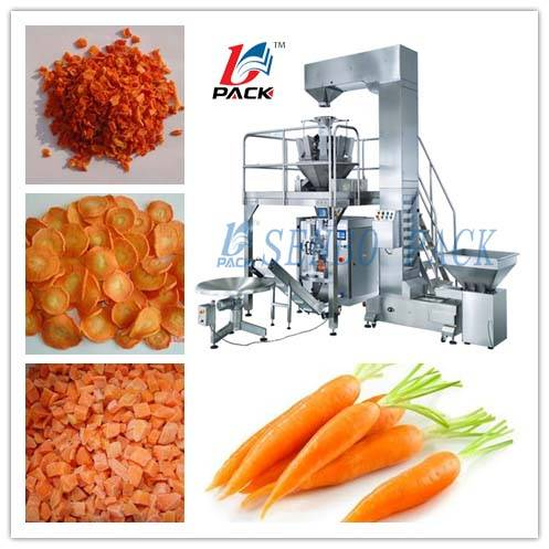 Dehydrated Carrot Packing Machine