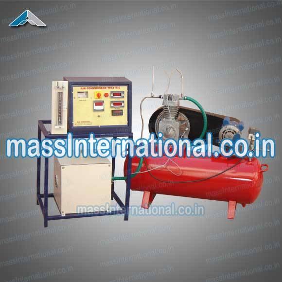 Single Stage Air Compressor Test Rig  (HM-13 )