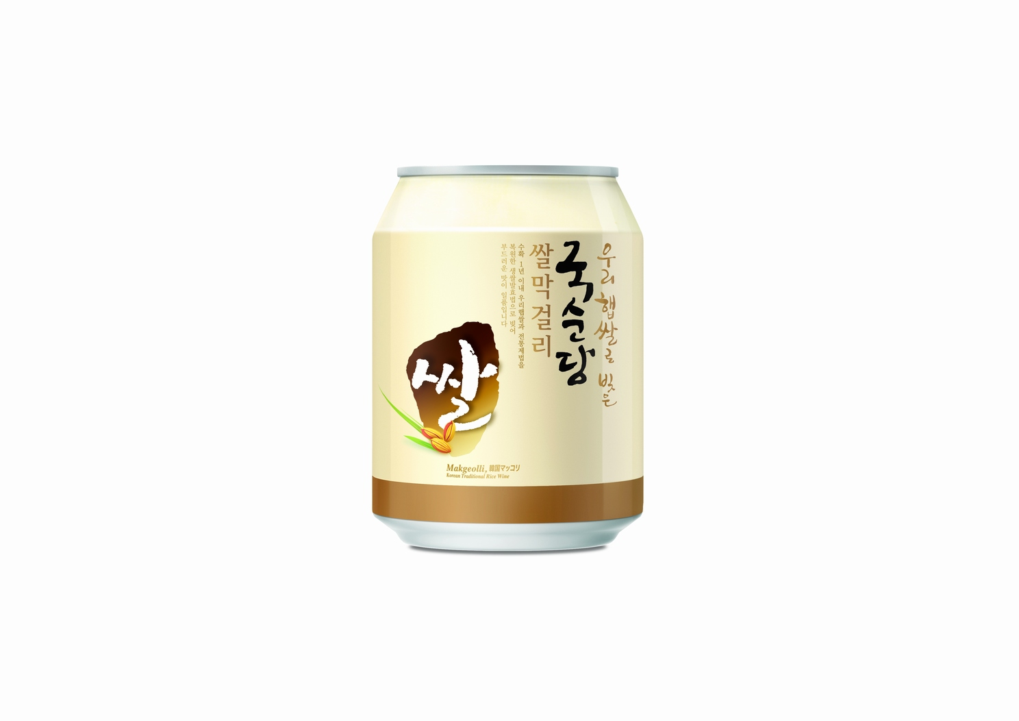 Korean Alcoholic Beverage 'Canned Makkoli' (Milky Rice Wine)  [2011/06/27]
