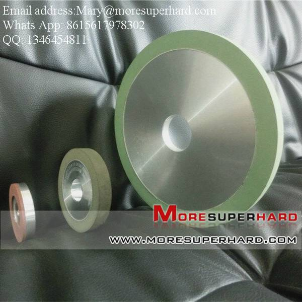 Diamond abrasive wheel for carbide sharpening