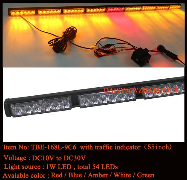 LED Traffic Bar Light with Brake Lights