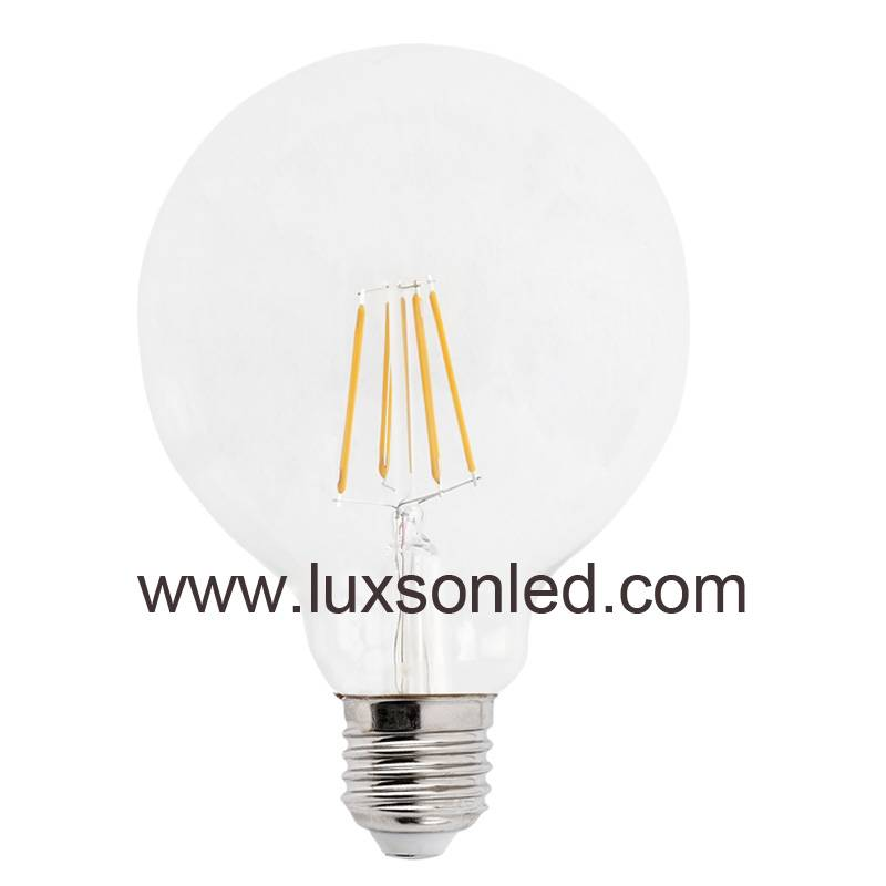LED Bulb G95 4W 5W 6W 8W  LED Lamp LED Light Filament Bulb