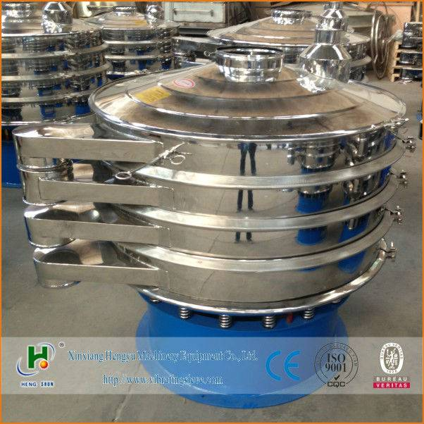 stainless steel rotary sieving machine
