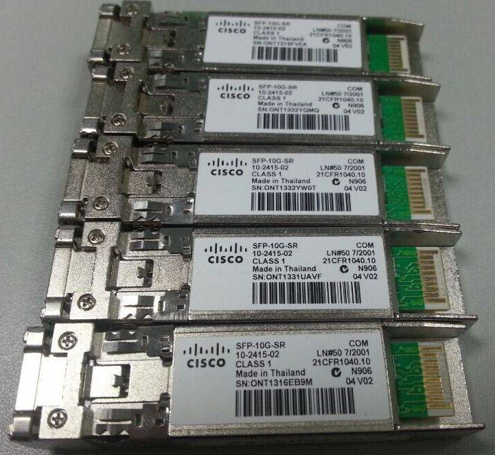 Cisco SFP-10G-SR v02