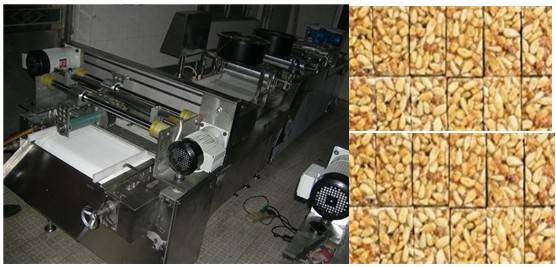 Sale automatic peanut candy forming machine