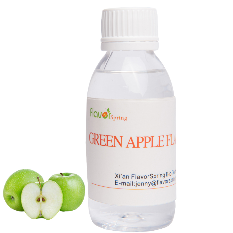 Strong concentrate green apple taste e liquid vape tobacco flavor