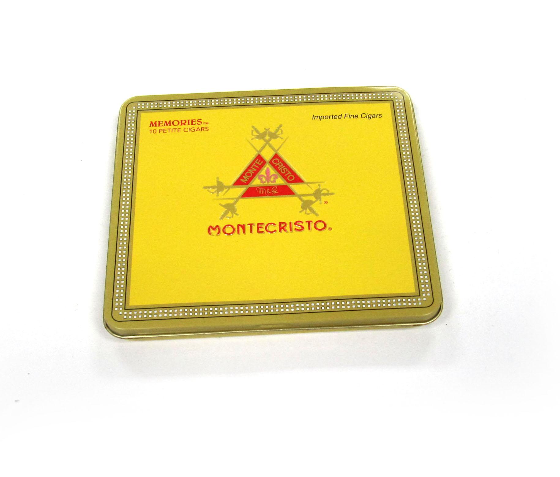 Factory cheap tobacco square tin case price