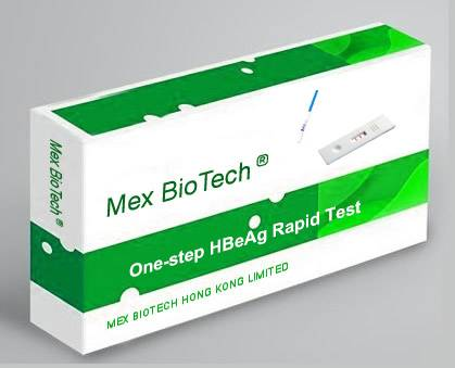 One Step HBeAg Hepatitis B Envelope Antigen Rapid Test Kit (Colloidal Gold)