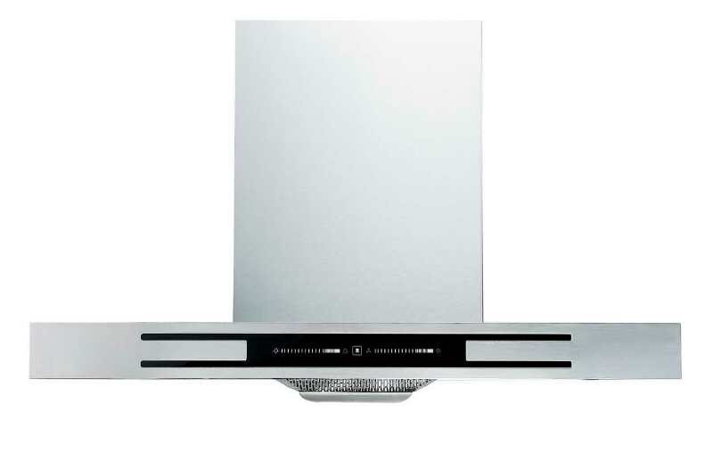 QTT-A706B 220V CB certification smart touch slide control stainless steel range hood