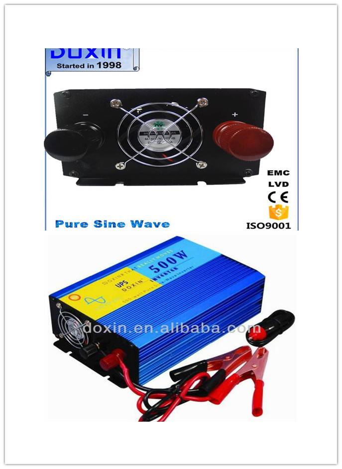 Doxin 1500w pure sine wave  inverter 12v 220v for ari conditioner