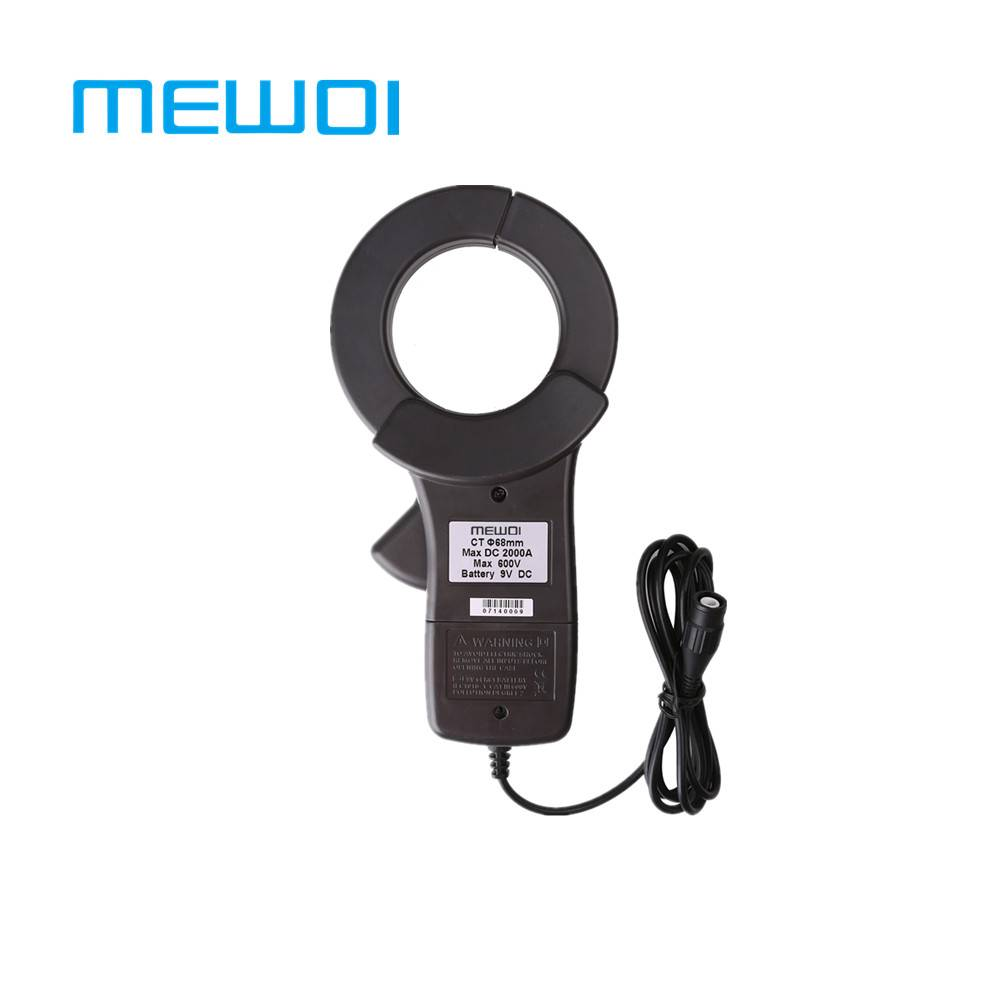 MEWOI168BE-68mm Clamp AC2000A,DC1000A Current sensor probe/meter/tester/pinza