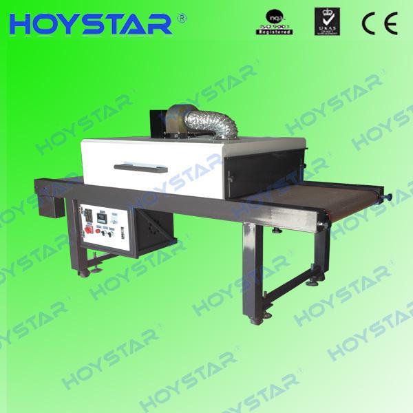 t-shirt ir infrared dryer with conveyor belt