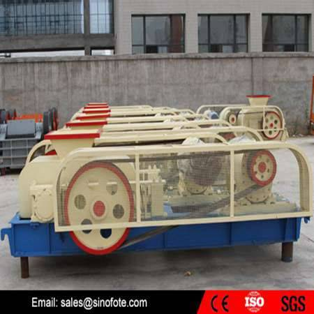 Double mineral coal roller crusher
