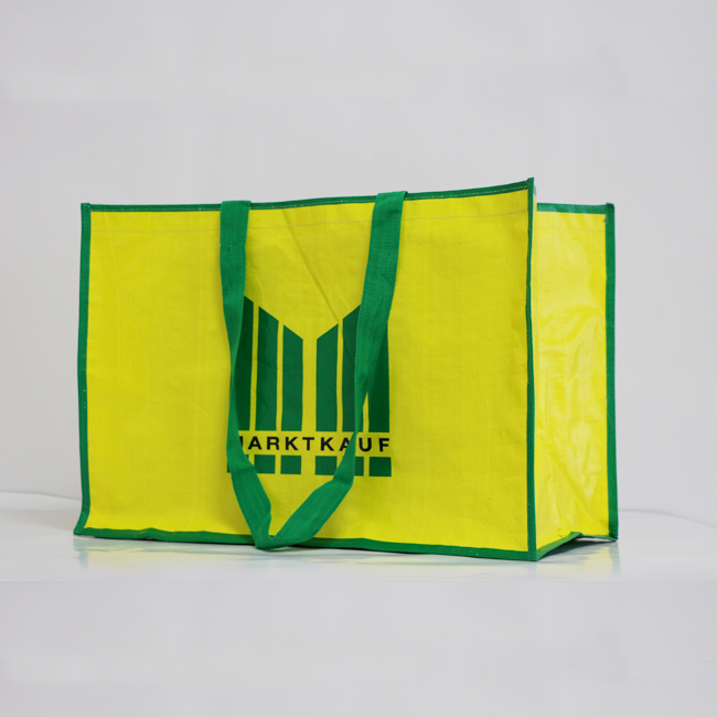 China Supplier Eco Promotional Grocery Waterproof Pp Laminated Non Woven Bag