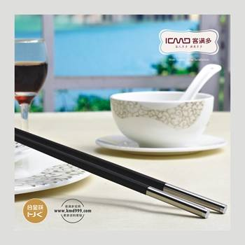 Flatware Sets Flatware Type and Stainless steel chopsticks Material decorative tableware