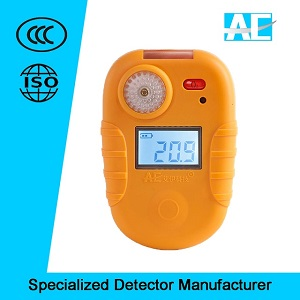Industrial Portable Single Gas Detector for leak alarm