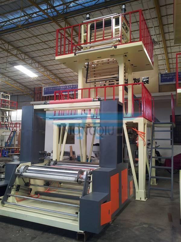 LDPE HDPE LLDPE film blowing machine