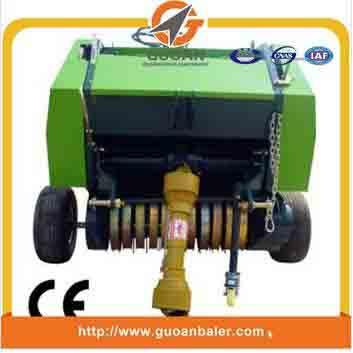 Tractor PTO driven Maize straw baler machine