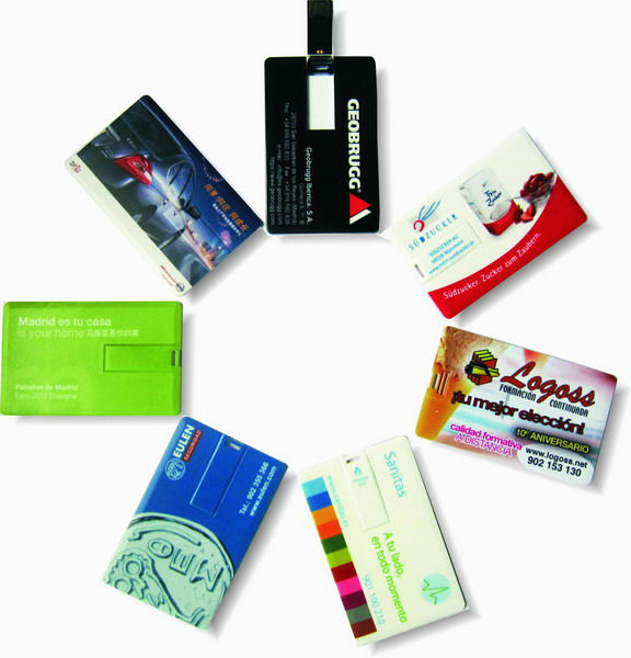 OEM custom logo credit card USB , promotional gifts USB card , business card USB flash drive