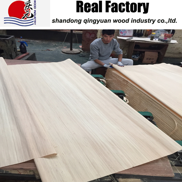 Engineering wood veneer poplar face veneer