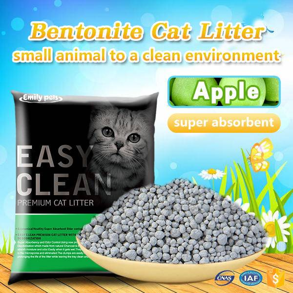Emily Pets Bentonite Cat Litter Apple 5L