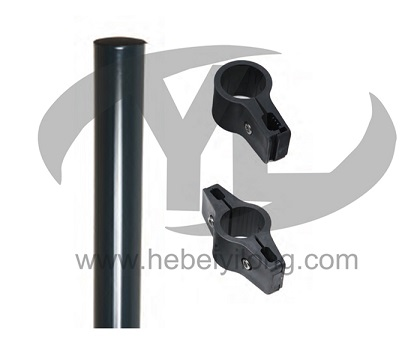 House Round Post Green Garden Fence with Gate Prices