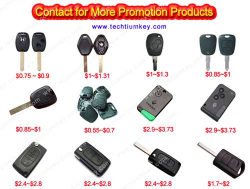 promtoion for car key