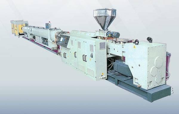 PVC Plastic Water Pipe Making Machine Extruder Extrusion Machine