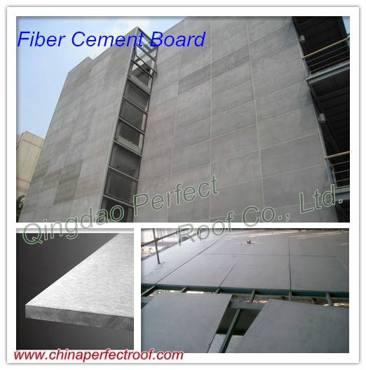 Flat Fibre Cement Board for Exterior Wall