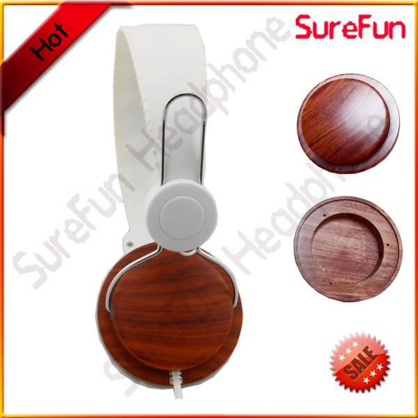 wooden fashion new design headphone