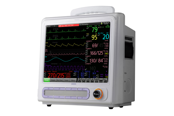 Medical Emergency Equipment, Patient Monitor with touchable PATRON BPM1200