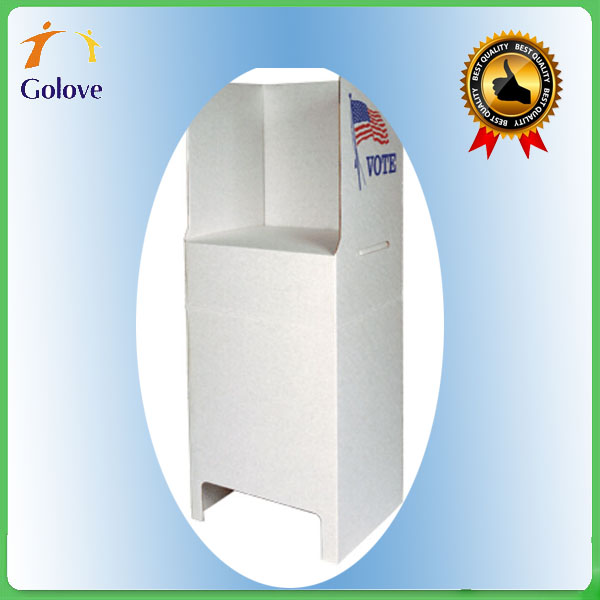 Wholesale Foldable Cardboard Polling Station
