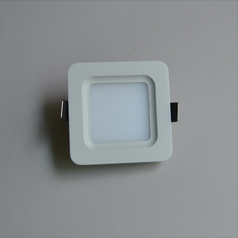 3W Rounded Square Anti-Glare Nature White LED Panel Light