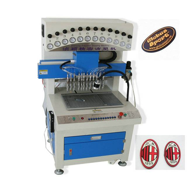 Rubber PVC Hang tag dispenser machine , PVC labelling making machine