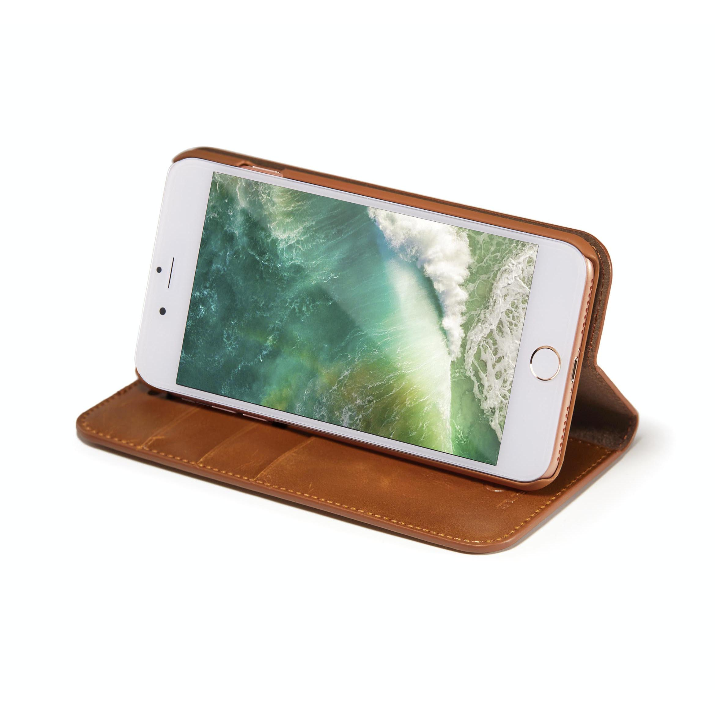 Flip leather phone cases for Apple iPhone
